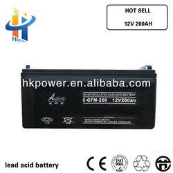 12V 200AH volta battery for ups, 200AH gel battery long life , 12V sealed car battery