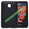 Reticulated Shell + Silicon Case for LG Optimus L3 II