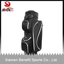High quality custom leather golf cart bags/golf club bag