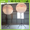 For promotion top quality attractive various advertising colorful LED lighting balloon stand