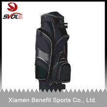 High quality custom leather golf cart bags/leather golf cart bag