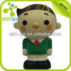 cartoon charactor plastic figurine toy