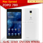 2014 HOT 5.0 Inch ZOPO ZP780 Quad Core Dual Sim dual camera china android cell phone