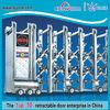 Industrial steel security door traffic barrier design exterior folding doors