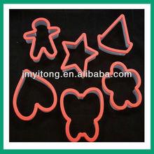 mini cute plastic cookies cutter,PP cookies cutter, children used cookie cutter