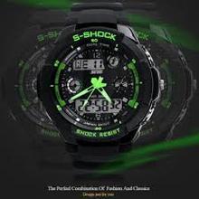Quartz Chronograph Military Digital Sport Men Watch Wristband Man 30 M Waterproof