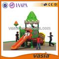 Crianças/crianças ao ar livre novo fairytale castelo playground equipamento em 2014
