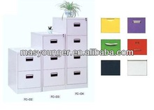 Stainless steel 2/3/4 drawer 100% open office shine file/filing cabinet furniture,the most popular office product