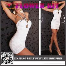 2014 Hot Sale sexy halter backless dress, sexy dress club wear