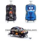 Hot selling pixar Car EVA 3D effect Child rolling bag, luagge ,travel bag ,trolley school bag