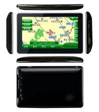 "Popular 7""touch screen GPS g-sensor with Bluetooth windowsCE6.0 wifi/fm/usb/tf cheap gps tracker mini smart tracker navigation"
