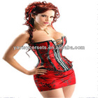 hot red women corset hot popular for sexy th