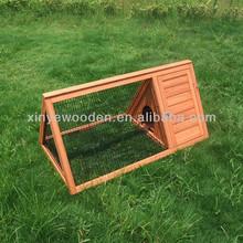 Wooden Triangle Rabbit Hutch