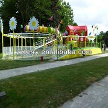 Playground amusement rides Mini roller coaster