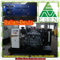 Genuine 100kw Dalian Deutz diesel genset (Open Type/ Silent Type)