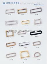 Pleated Side Strap Holder Loop Chain soft loop handle plastic bag buckle
