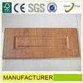 simple de pvc mdf gabinete de cocina puerta de madera