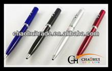 Laser pointer electronic ballpoint pen