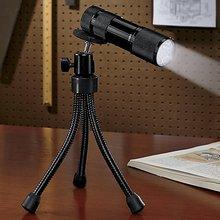 9 LED flexbile tripod flashlight