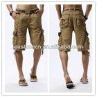 summer customerized mens bermuda cargo shorts