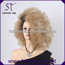 2014 best supplier provide blonde women girls afro beauty wig