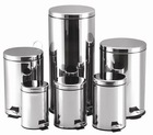 Rond 3L-40L Stainless steel dustbins manufacturer