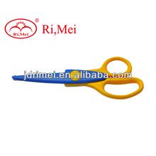 Silver foldable scissors, utility trip scissors, safety school office scissor