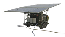 solar mobile water purification