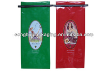 mid seal coffee with tie / cafe bag / caffe plastic bag
