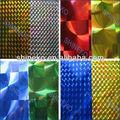 couleurs autocollantes en vinyle film holographique en plastique pour la décoration murale
