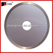 300x7x25.4mm cold press continuous rim blade ceramic tiles circular saw blade,diamond tile saw blade