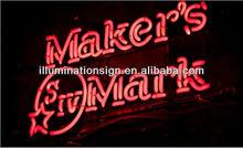 Bar Maker`s Mark Neon Sign