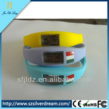 Waterproof And Mix Colors Cheap Jelly Watch Silicone LED Watches