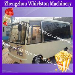 China mobile electric mini bus van for fast food/juice/ice cream/kebab