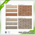Novos materiais de construção decorativo/falso leve flexibl frente decorativa da parede de tijolo/telhas