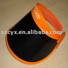 waterproof plastic sun visor cap