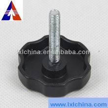 D40*10*M6*40 ABS Plum Blossom Shape Adjustable Knob for Furnitures
