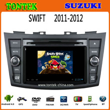 Double din android radio gps car dvd player for suzuki swift car
