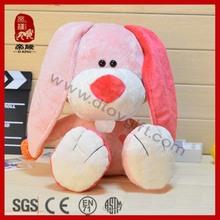 Pink rabbit cute Buck teeth rabbit soft rabbit for girls pink bunny toy