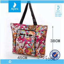 waterproof large fold up tote bag
