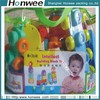 High quality stand up print soft zipper pvc plastic bag for toy