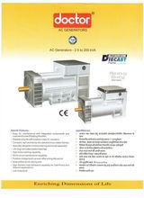 AC Alternators for DG Sets