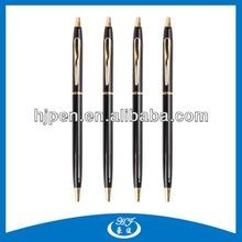 Hot Selling Promotional Items Slim Twist Metal Pen, Cheap Ballpoint Pens