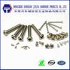 DIN7985 machine screw head types phillips pan head