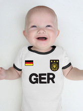 World Cup Baby Rompers