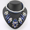 2014 HOT Fashion Luxury Crystal Necklace Brand Shourouk Necklace Wholesales for Women