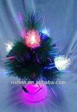 Mini Artificial Christmas Tree with Pre-Decorative Ornaments