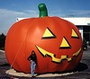 giant inflatable pumpkin balloons for Halloween F8005