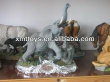 Customized resin elephant sculpture,elephant statue,mini elephant