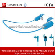 V3.0 unique sports bluetooth headphone visible in dark